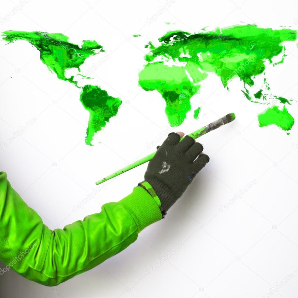 Es verde lo que se pinta de verde