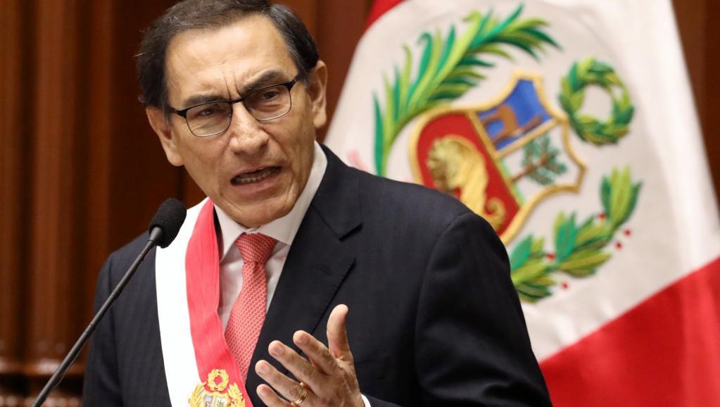 Martín Vizcarra, Presidente Peruano, propone adelantar un año las elecciones presidenciales