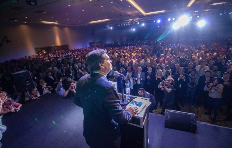 """Capitanich presentó su propuesta de reforma constitucional """"para construir calidad democrática e institucional del Chaco"""""""