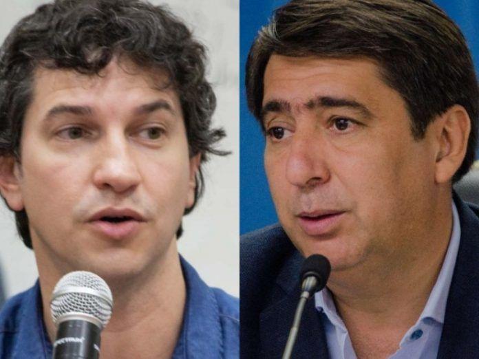 """Arévalo disparó contra Martínez: """"Su campaña duró cuatro años y no queda muy claro cómo se financió"""""""