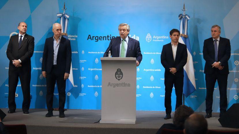 Coronavirus: el Gobierno decretó la cuarentena total en la Argentina