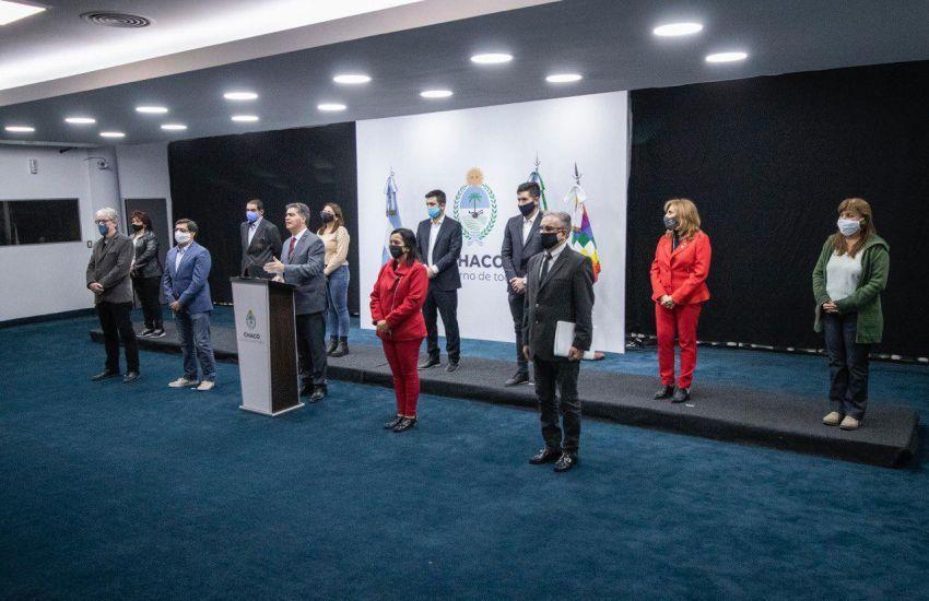 "Capitanich e intendentes ponen en marcha el ""Plan de Desescalada"""